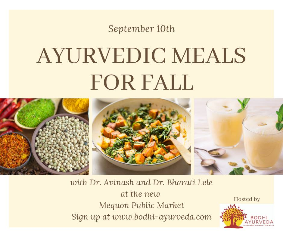 Ayurvedic Cooking for Fall
